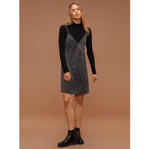 Aritzia Faux-Suede Tank Dress Vivienne